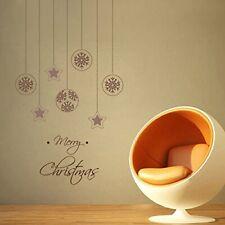 Wall Sticker Christmas Stars Design PVC Vinyl Removable Home Décor Decal