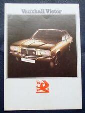 VAUXHALL VICTOR CAR SALES BROCHURE 1974 #V2170.9.73
