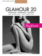"Hudson ""Glamour 20"" Strumpfhose transparent glänzend"