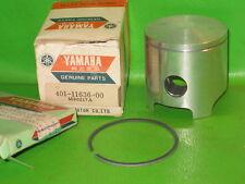 YAMAHA MX125 1974-75 PISTON + RING 56.50 OS. OEM