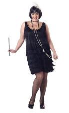 Fashion Flapper Adult Plus Size Costume Roaring 20's