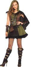 Darling Robin Hood Adult Women's Costume Brown Dress Fancy Dress Leg Avenue