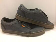 """Vans Men's Shoes """"Chukka Low''--Oxford Canvas/Black/Gum"""