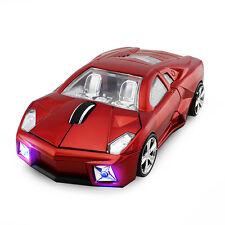BN 2.4G Lamborghini Aventador Car Optical Wireless Mouse Mice for Laptop PC Gift