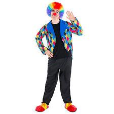 Disfraz de Payaso Oleg Hombre Circo Halloween Vestido Fantasía Carnaval