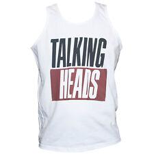 Talking Heads T-shirt Vest Art Punk Rock Festival Unisex Top SIZES S M L XL XXL
