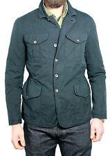 Filson chaqueta de hombre sin forro en azul mod 1902 ceñido reregular ceñido