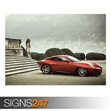 ALFA ROMEO (AB232) CAR POSTER - Photo Picture Poster Print Art A0 A1 A2 A3 A4