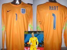Inglaterra Hart Portero Adulto S L XL NIKE Camiseta Jersey Fútbol BNWT Nuevo
