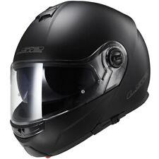 LS2 Strobe Solid Motorcycle Motorbike Helmet - Matt Black