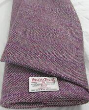 Harris Tweed De Tela Y Etiquetas 100% Lana Artesanal Material-Varios Tamaños code0215lh