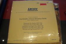 HELMUT WALCHA BACH ARCHIV PRODUCTION GEMA 198156