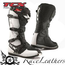 NEUF TCX blast-x blanc OFFROAD ENDURO MOTOCROSS MX Moto Hors-Route BOTTES