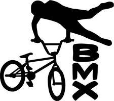 BMX Bike Decal Bicycle Trick Window Bumper Sticker Car Decor Free US Shipping