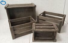 Holzkisten-Dekokisten-Holzbox-Weinkiste Shabby Chic versch.Größen