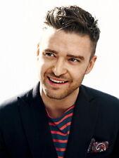 Justin Timberlake Smile Amazing Portrait Handsome HUGE GIANT PRINT POSTER