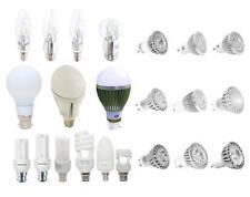 LED y bombillas Bombilla De Ahorro de energía gu10/mr16/e14 / e27/b22/b15 candle/spotlight