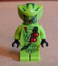 Lego Ninja Lasha ( 9562 ) Figur grün Schlange Snake neon giftgrün Ninjago Neu