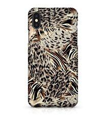 Spotted Black Mixed Zebra Leopard Commando Camo Animal Print Phone Case Cover