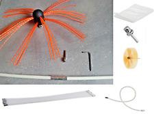 Cyclone® Power Sweeping Chimney DIY Kit Flexible Rods Full Kit  + Dust Sheet