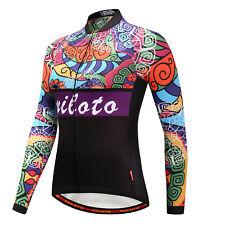 Pro Team Women Cycling Jersey Long Sleeve Bike Bicycle Shirt Cycling Clothing