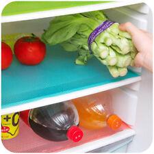 4xRefrigerator Fridge Mat Pad Drawer Liners Washable Kitchen Waterproof Shelf