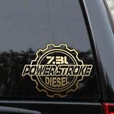 Powerstroke 7.3L Diesel Truck Decal Sticker Ford Turbo F250 F350 Window Laptop