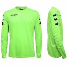 maglia portiere calcio Kappa 4SOCCER UOMO shirt leggera Verde Fluo mc.lunga 901r