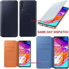 Genuine Samsung Flip Case Galaxy A70 smart phone cover original sm 705F wallet