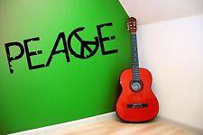 La pace stile Grunge SOTTERRANEO Adesivi Murali Decalcomanie Decor 30cm x 100cm cool!!!