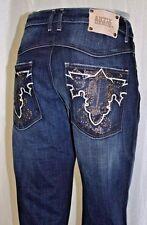 Men's Fashion Antik Denim Dark Blue Stated Jeans