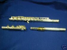 Brian J Hinkle FL12SH French Flute, Solid Silver Head