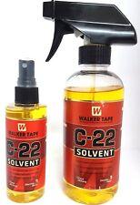 C22 cinta adhesiva de disolvente Walker Extensión De Cabello Removedor De Pegamento Encaje Peluca peluquín