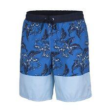 CMP boardshort short de bain uluwatu fleur blau bande en caoutchouc laçage