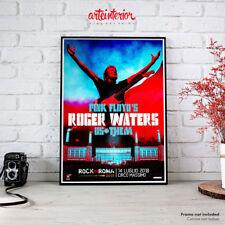 Pink Floyd's Roger Waters | Roma Circo Massimo 2018 Poster Manifesto Locandina