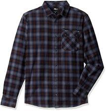 FOX Unisex Revol Long Sleeve Flannel Shirt Pewter **SALE** Was $70