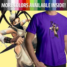 Street Fighter Ibuki Ninja Kunai Ninjutsu Capcom Unisex Mens Tee Crew T-Shirt