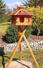 Vogelhaus Vogelhäuschen Vogelhäuser auch mit Ständer und Solarbeleuchtung Typ 4