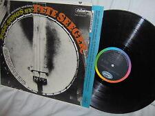 PETE SEEGER-FOLK SONGS NEVER RELEASED BEFORE-MASTERS NM/VG+ VINYL RECORD LP