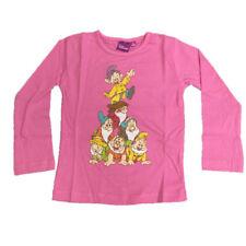 Maglietta Bambina Maniche Lunghe 7 Nani Disney *06858