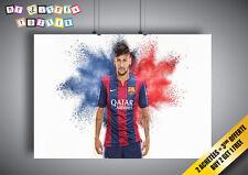 Poster Super Neymar Junior FC Barcelona Wall Art