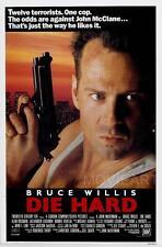 DIE HARD BRUCE WILLIS MOVIE POSTER FILM A4 A3 ART PRINT CINEMA #2