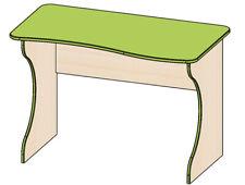 Jugendzimmer Schreibtisch Tisch Computertisch 110 cm birke / lime grün Neu 6572