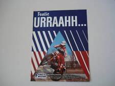 advertising Pubblicità 1981 FANTIC TRIAL 200 PROFESSION