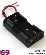 Battery Box/Holder/Case/Pack for 2xAA 3v DC JR/JST/Futaba/DC Socket/Croc clips