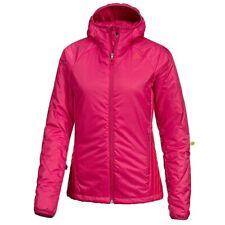 Adidas Señoras Abrigo Chaqueta Con Capucha Primaloft Rosa del trazador de líneas