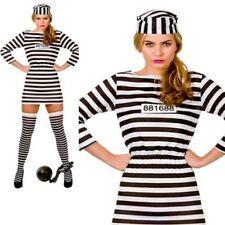 Adulto Preso Convicto Disfraz Mujer Disfraz Despedida Soltera 6/24