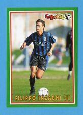 PANINI SUPERCALCIO 96/97-Figurina n.196- INZAGHI - ATALANTA - NEW