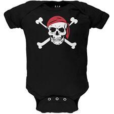 Jolly Roger Pirate Costume Newborn Infant One Piece