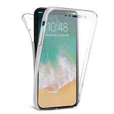 "Coque Silicone Gel ultra 360° Avant et Arrière Apple Iphone X 5.8""/ iPhone 10"